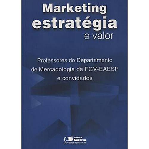 Livro - Marketing - Estratégia e Valor