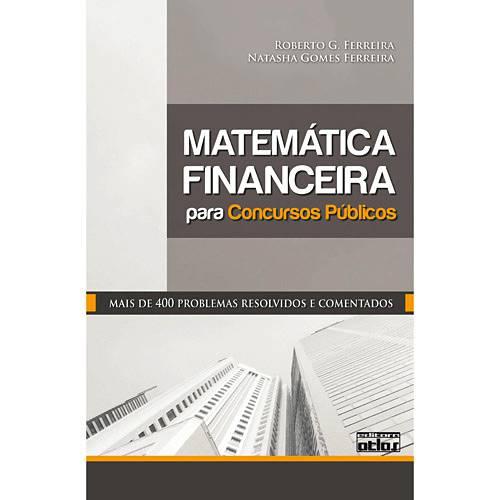 Livro - Matemática Financeira para Concursos Públicos