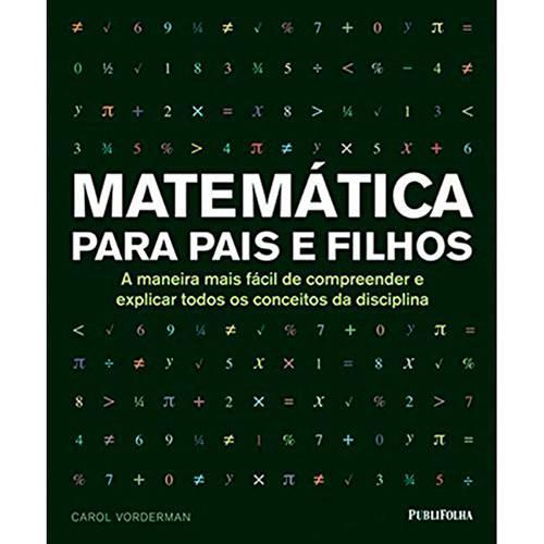 Livro - Matemática para Pais e Filhos