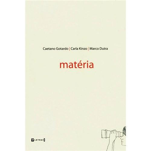 Livro - Matéria