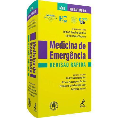 Livro - Medicina de Emergência - Revisão Rápida - Usp - Martins