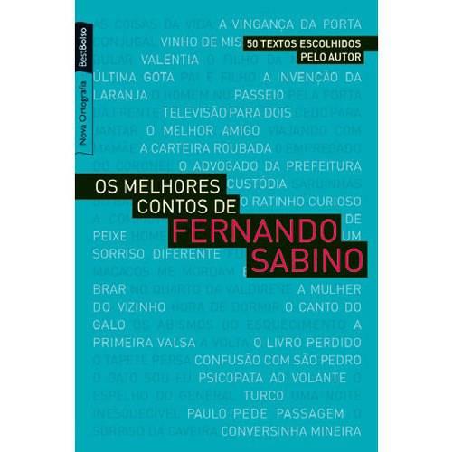Livro - Melhores Contos de Fernando Sabino, os - Edição de Bolso