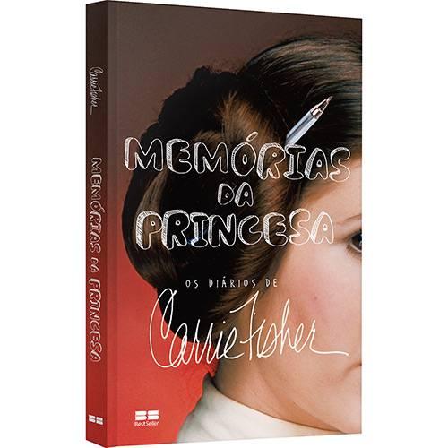 Livro - Memórias da Princesa: os Diários de Carrie Fisher