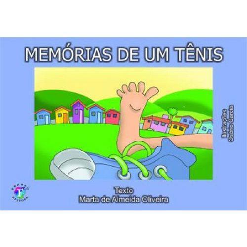 Livro Memórias de um Tênis