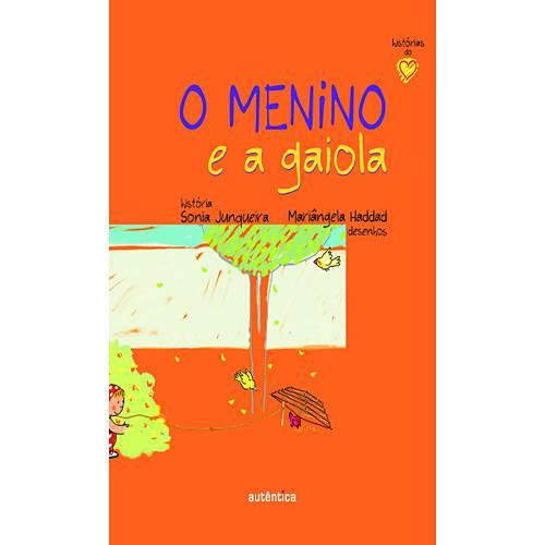 Livro - Menino e a Gaiola, o