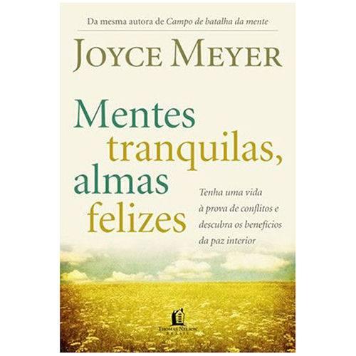 Livro Mentes Tranquilas Almas Felizes