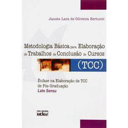 Livro - Metodologia Básica para Elaboração de Trabalhos de Conclusão de Curso