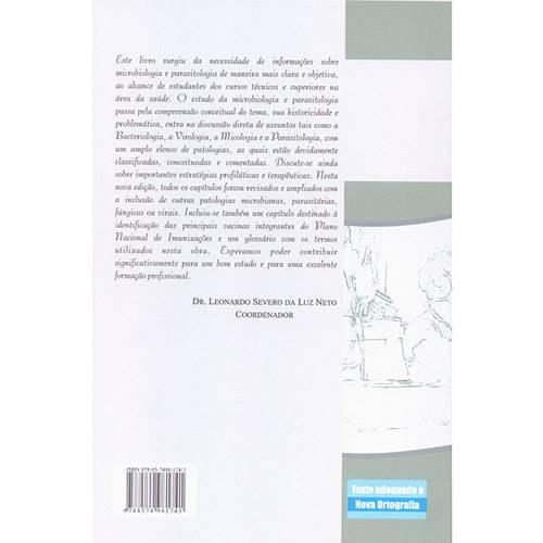 Livro - Microbiologia e Parasitologia: uma Contribuição para a Formação de Profissionais da Saúde - Coleção Curso de Enfermagem