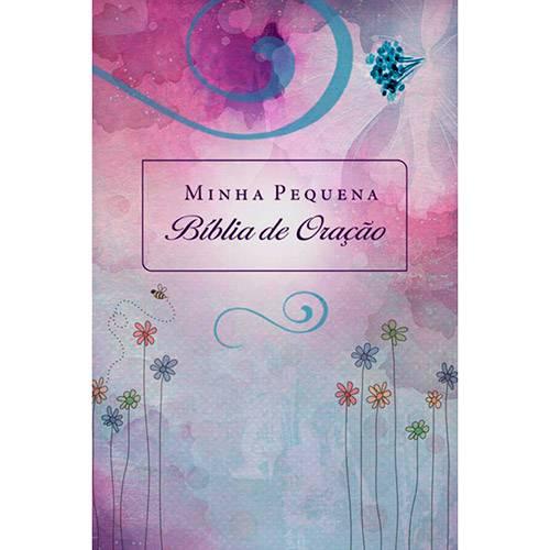 Livro - Minha Pequena Bíblia de Oração (Almofadada Flores)