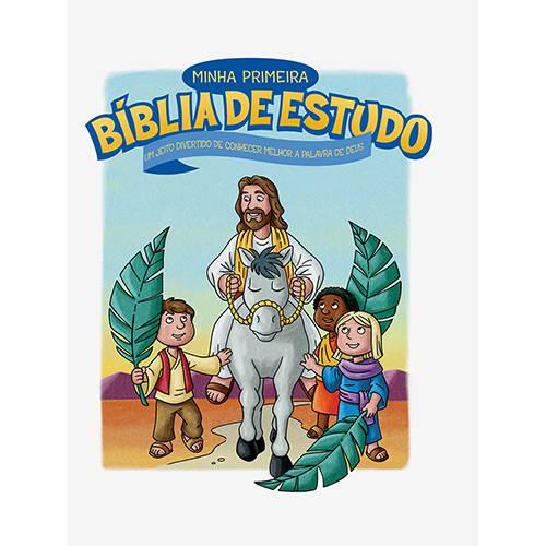 Livro - Minha Primeira Bíblia de Estudo