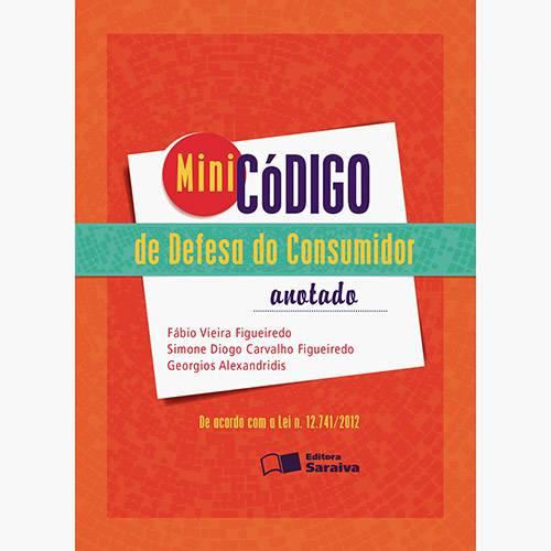 Livro - Minicódigo de Defesa do Consumidor: Anotado