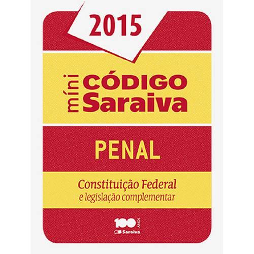 Livro - Minicódigo Penal Saraiva - 2015