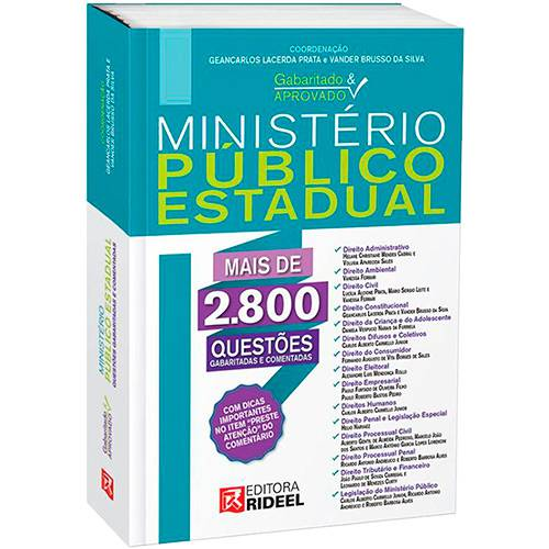 Livro - Ministério Público Estadual - Gabaritado e Aprovado