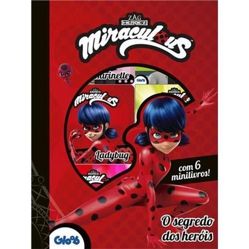 Livro Miraculous - o Segredo dos Heróis - Box com 6 - MELHORAMENTOS