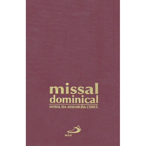 Livro - Missal Dominical