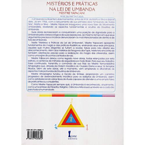 Livro - Misterios e Práticas na Lei de Umbanda