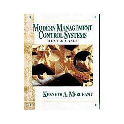 Livro - Modern Management Control Systems