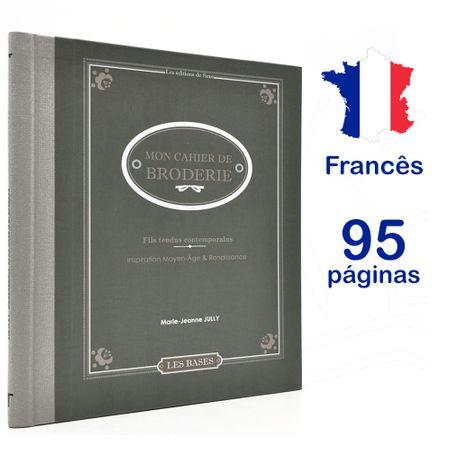 Livro Mon Cahier de Broderie - Fils Tendus