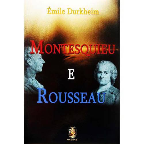 Livro - Montesquieu e Rousseau