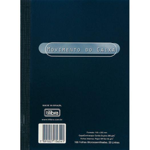 Livro Movimento Caixa Cp Flex Pq 100f 15654 Tilibr