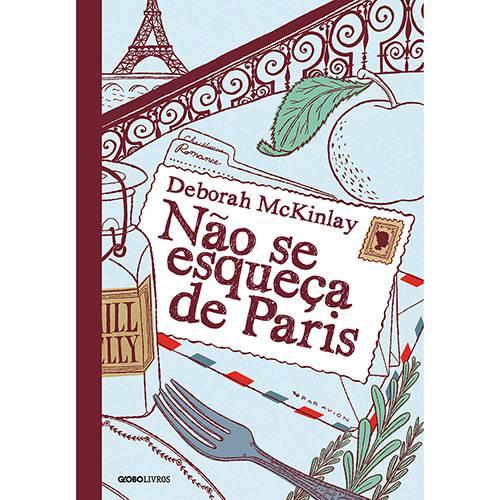 Livro - não se Esqueça de Paris