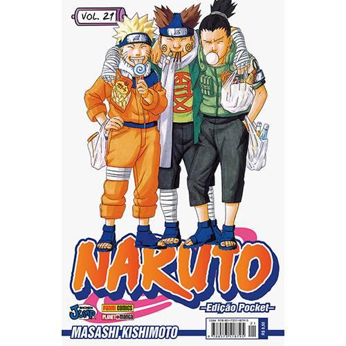 Livro - Naruto: Edição Pocket - Vol.21