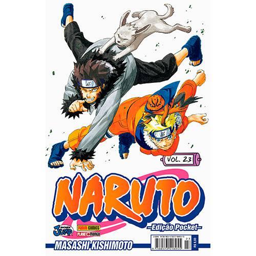 Livro - Naruto: Edição Pocket - Vol.23