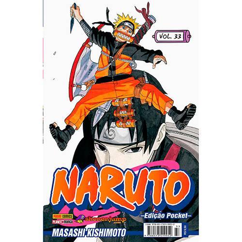 Livro - Naruto: Edição Pocket - Vol.33