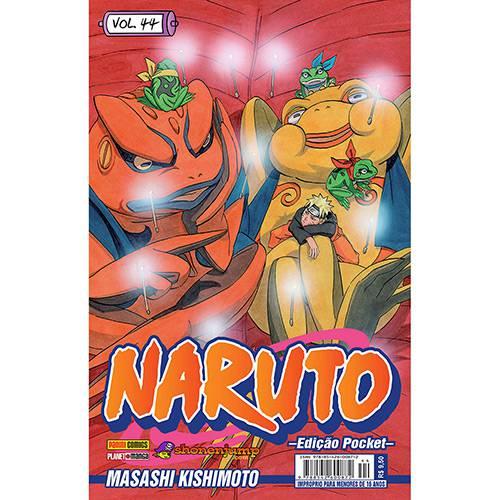Livro - Naruto: Edição Pocket - Vol.44