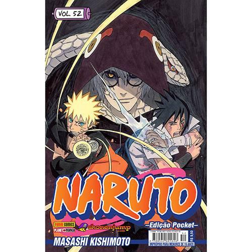 Livro - Naruto: Edição Pocket - Vol.52