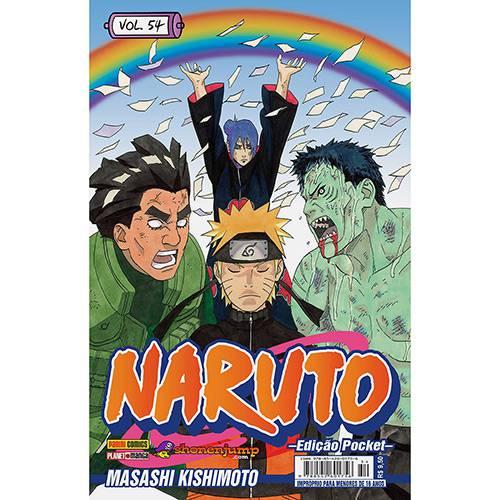 Livro - Naruto: Edição Pocket - Vol.54