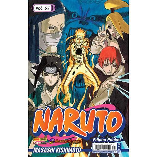 Livro - Naruto: Edição Pocket - Vol.55