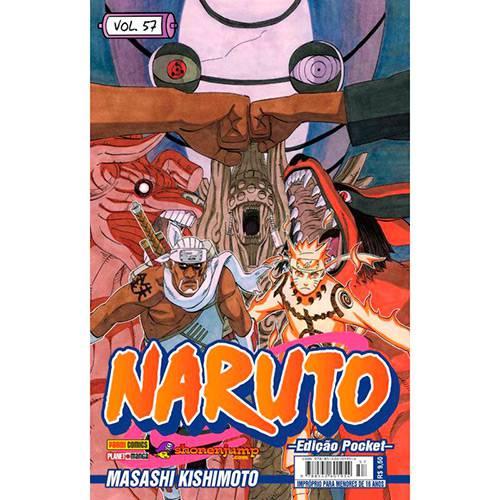 Livro - Naruto (Edição Pocket) - Vol. 57