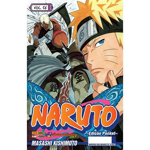 Livro - Naruto Pocket 56