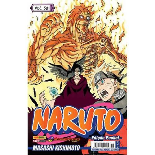 Livro - Naruto Pocket