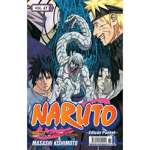 Livro - Naruto - Vol. 61 - Edição Pocket