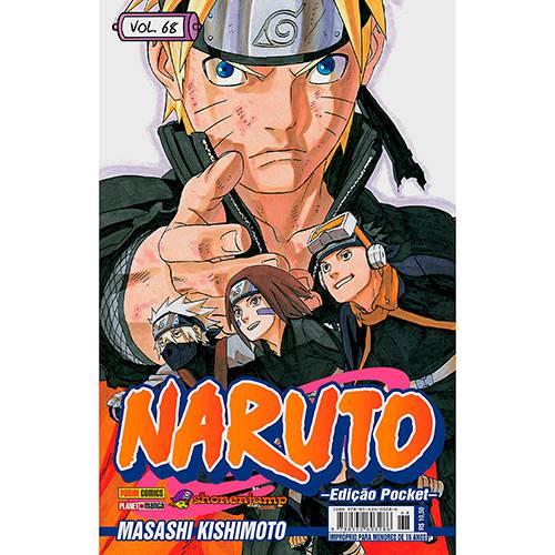 Livro - Naruto - Vol. 68 [Edição Pocket]