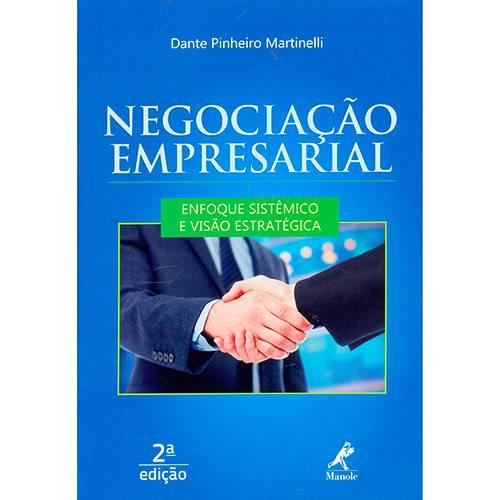Livro - Negociação Empresarial: Enfoque Sistêmico e Visão Estratégica