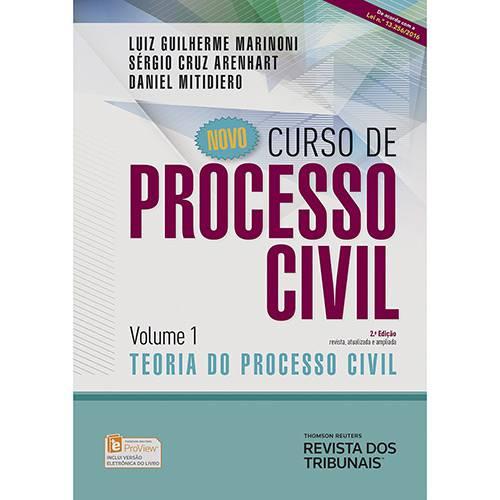 Livro - Novo Curso de Processo Civil: Teoria do Processo Civil