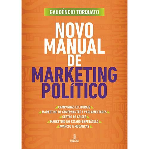 Livro - Novo Manual de Marketing Político