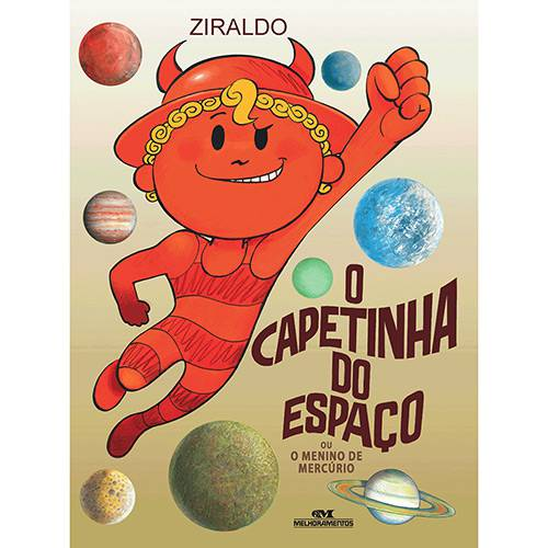 Livro - o Capetinha do Espaço ou o Menino de Mercúrio