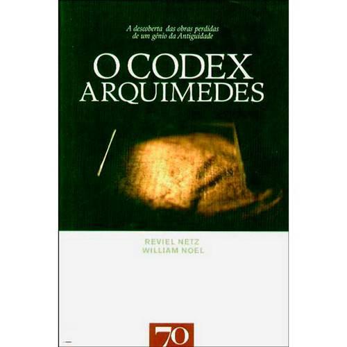 Livro - o Codex Arquimedes
