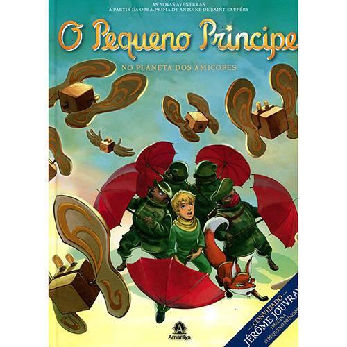 Livro - o Pequeno Príncipe no Planeta dos Amicopes