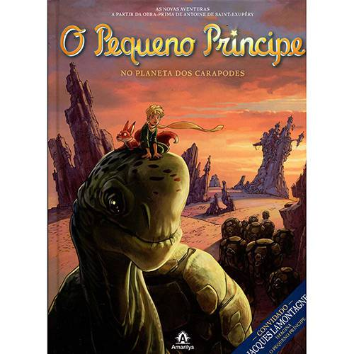 Livro - o Pequeno Príncipe no Planeta dos Carapodes