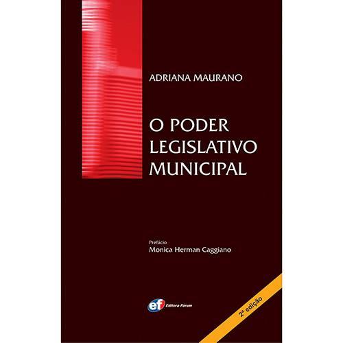 Livro - o Poder Legislativo Municipal