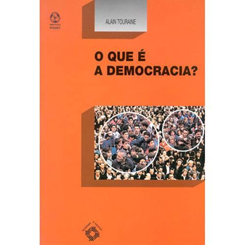 Livro - o que é a Democracia?
