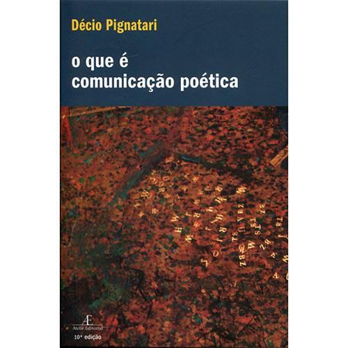 Livro - o que é Comunicação Poética
