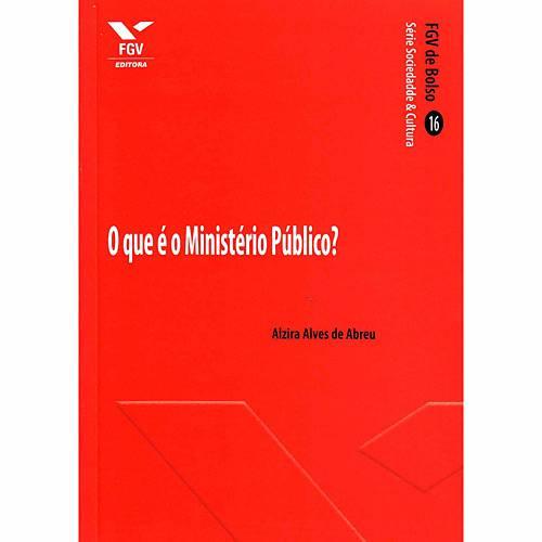 Livro - o que é o Ministério Público?