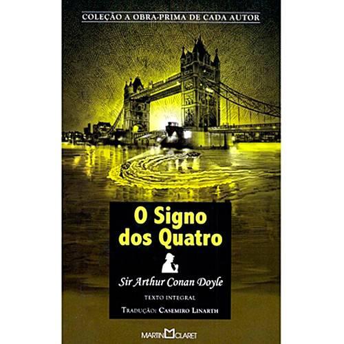 Livro - o Signo dos Quatro - Coleção a Obra-Prima de Cada Autor