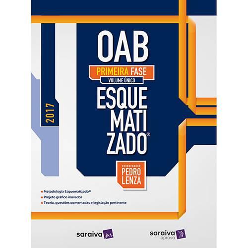 Livro - OAB Esquematizado® Primeura Fase (Volume Único)